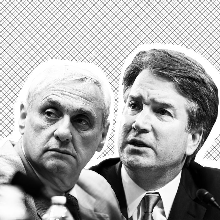 Image result for photos of kozinski kavanaugh