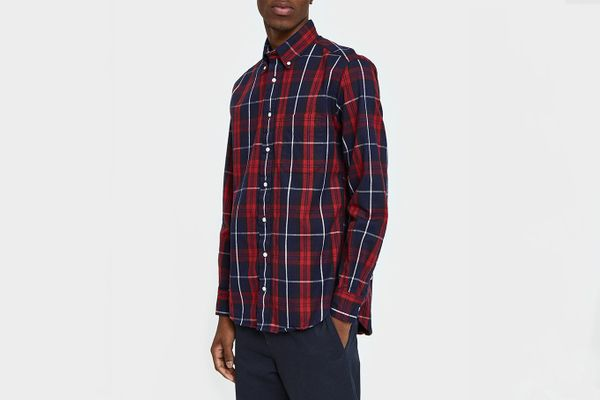 Gitman Brothers Vintage Plaid Flannel Shirt