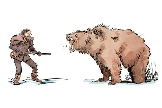how leo should u2019ve handled that bear attack