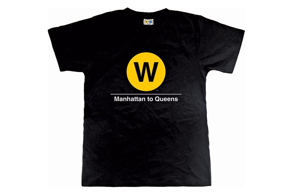 Classic Subway T-Shirt - W Train