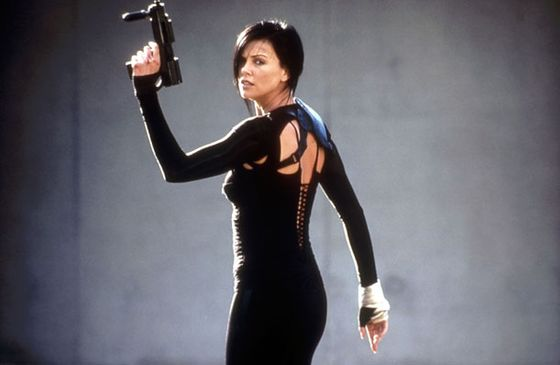 Charlize Theron in <i>Aeon Flux</i>, 2005