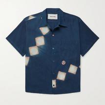 Story Mfg. Shore Embroidered Printed Organic Cotton Shirt