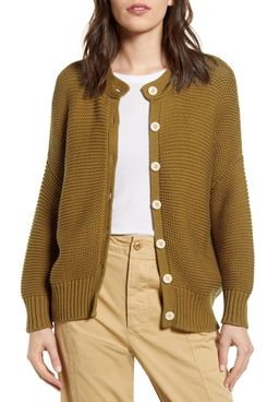 Alex Mill Chunky Cotton Cardigan