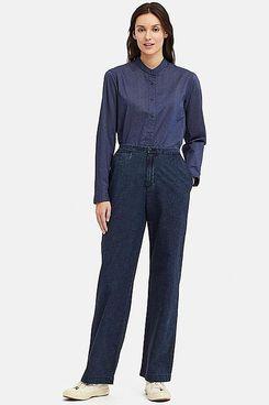 Uniqlo x Ines de la Fressange Cotton Relaxed Pants