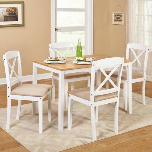 Mason 5 Piece Cross Back Dining Set