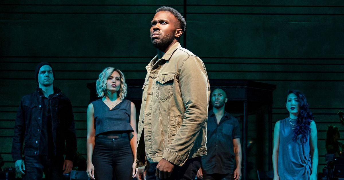 Theater Review: A Pop-Song Master Delivers The Wrong Man