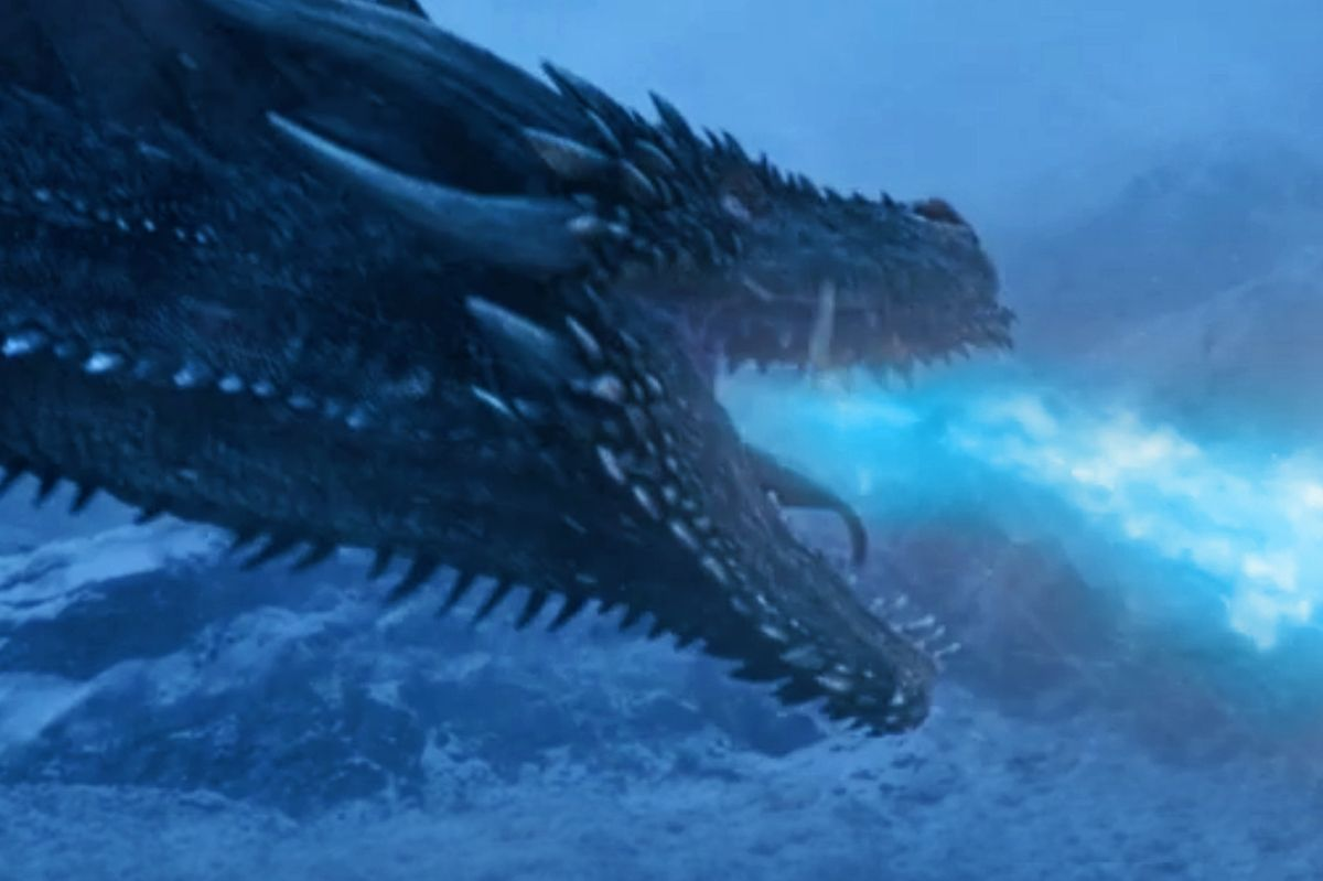 how will game of thrones u0027s night king use his ice dragon