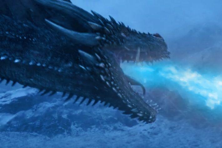 Resultado de imagem para viserion ice dragon