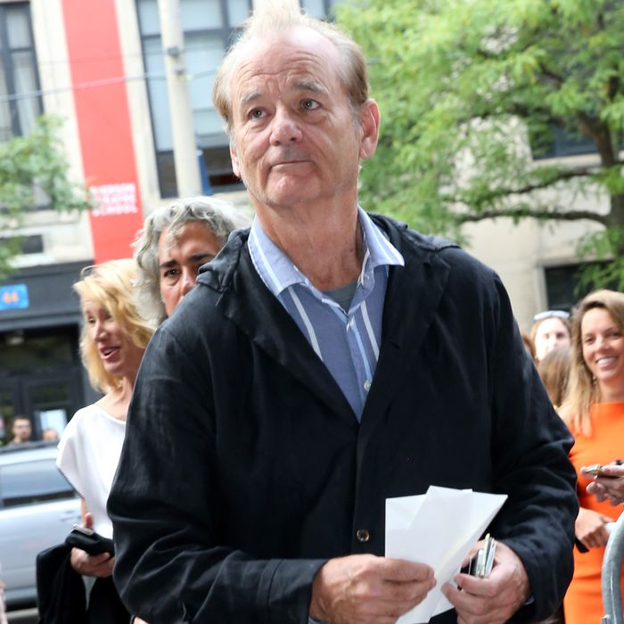 TORONTO, ON - SEPTEMBER 06: Actor Bill Murray attends the