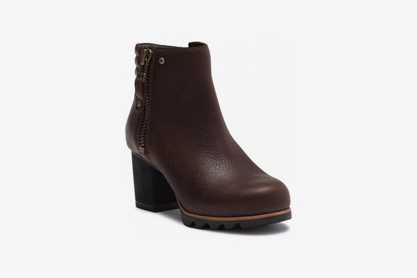 Sorel Danica Waterproof Leather Bootie