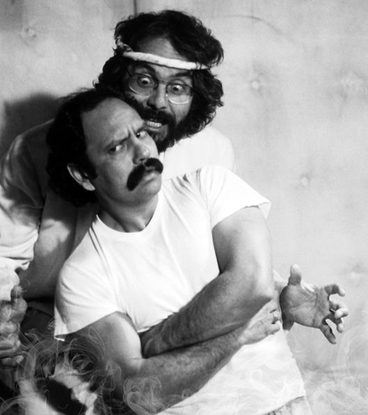 Cheech Marin And Tommy Chong  In 'Nice Dreams