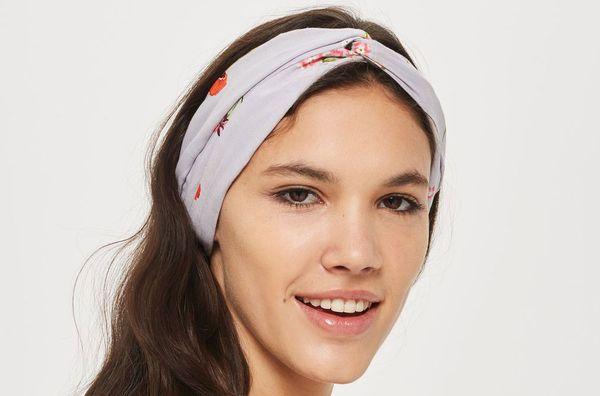 Topshop Poppy Print Headband