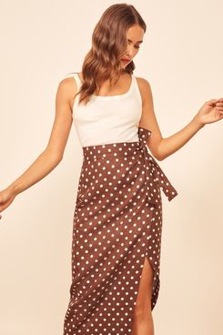 Reformation Florence Skirt