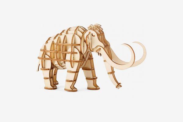 Kikkerland 3D Prehistoric Animal Wooden Puzzle