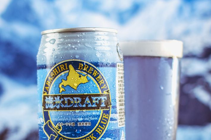 this extremely blue japanese beer is finally available in the us