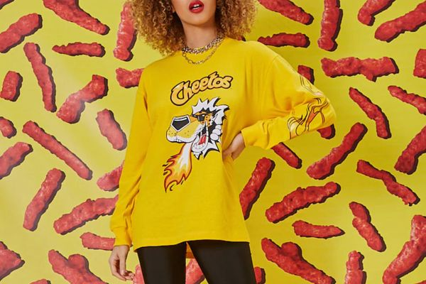 Forever 21 x Cheetos Graphic Tee
