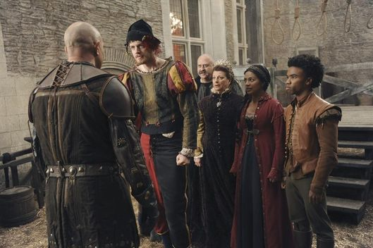 "GALAVANT - ""It's All In the Executions"" - Galavant enlists King Richard in a plot to kill Kingsley before the duel... but ends with a drunken whimper. Will Gareth kill King Richard in the duel? Will Galavant rescue everyone? Will Madalena find a new ""boy toy?"" The answers are very different from what you expect, on ""Galavant,"" airing SUNDAY, JANUARY 25 (8:30-9:00 p.m., ET) on the ABC Television Network. (ABC/Daniel Liam)VINNIE JONES, BEN PRESLEY, STANLEY TOWNSEND, GENEVIEVE ALLENBURY, KAREN DAVID, LUKE YOUNGBLOOD"