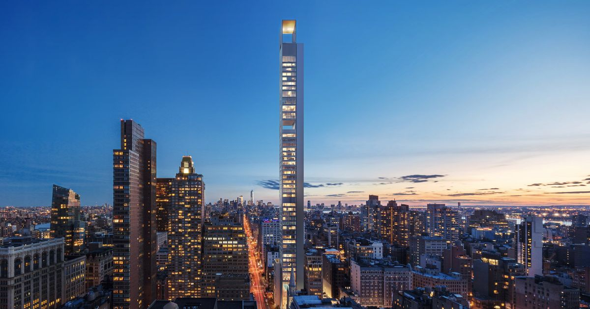 Yet Another Supertall Skyscraper Will Rise In Manhattan on skyline nomad floor plans