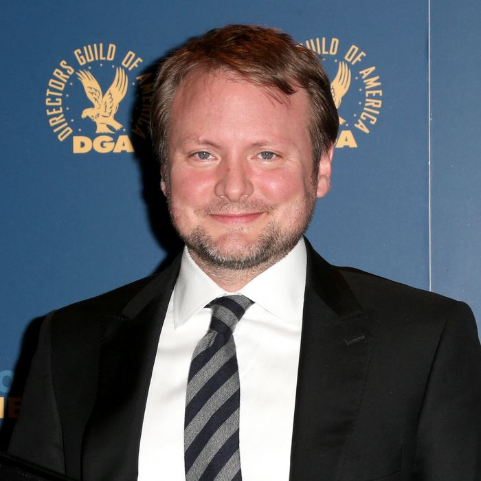 LOS ANGELES, CA - FEBRUARY 02: Director Rian Johnson, winner of the Outstanding Directorial Achievement in Dramatic Series for the