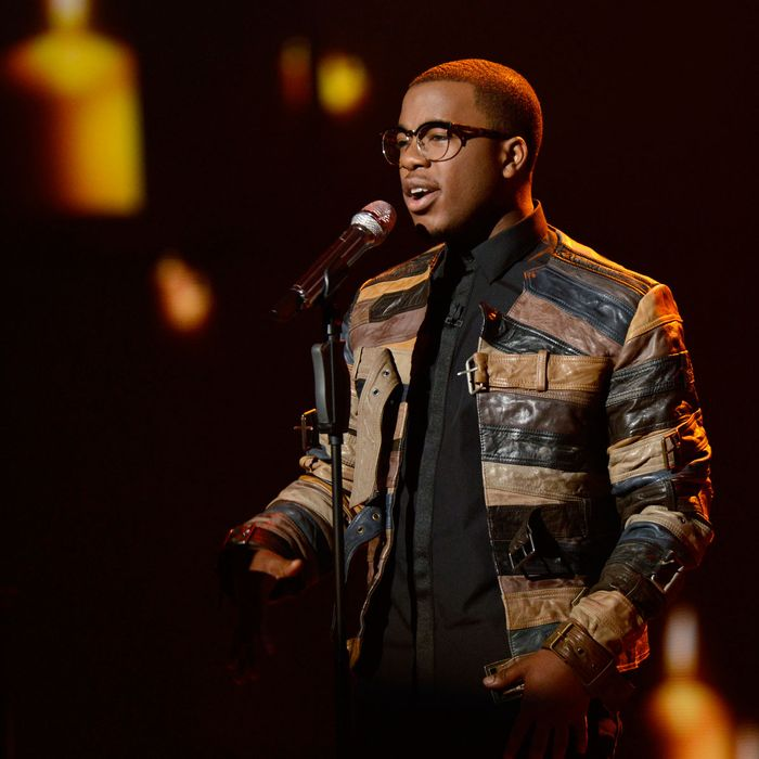 AMERICAN IDOL: Burnell Taylor performs on AMERICAN IDOL Wednesday, March 20 (8:00-10:00 PM ET/PT) on FOX.