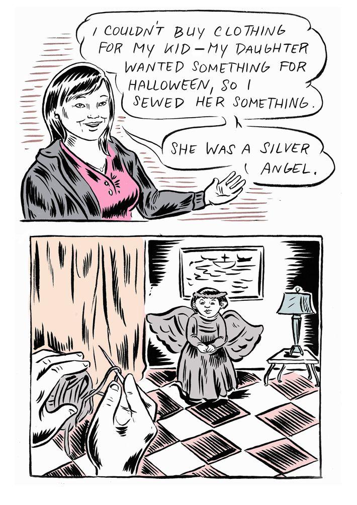 The Golden Door' Comic: Gina's Immigration Story