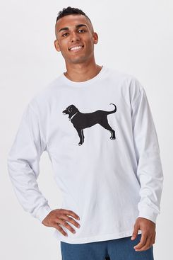 The Black Dog Men's Classic Longsleeve Tee