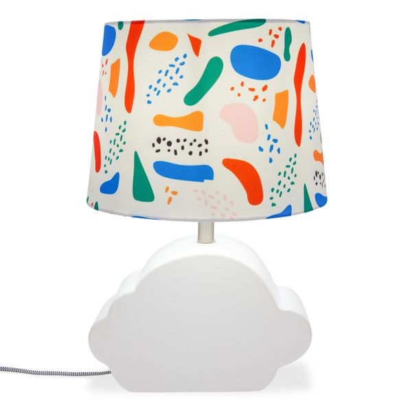 Drew Barrymore Flower Kids Abstract Shapes Ceramic Cloud Lamp