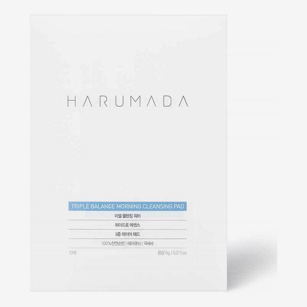 Harumada Triple Balance One-Step Cleansing Foam Pad