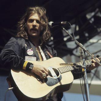 Glenn Frey Of The Eagles Performs Live
