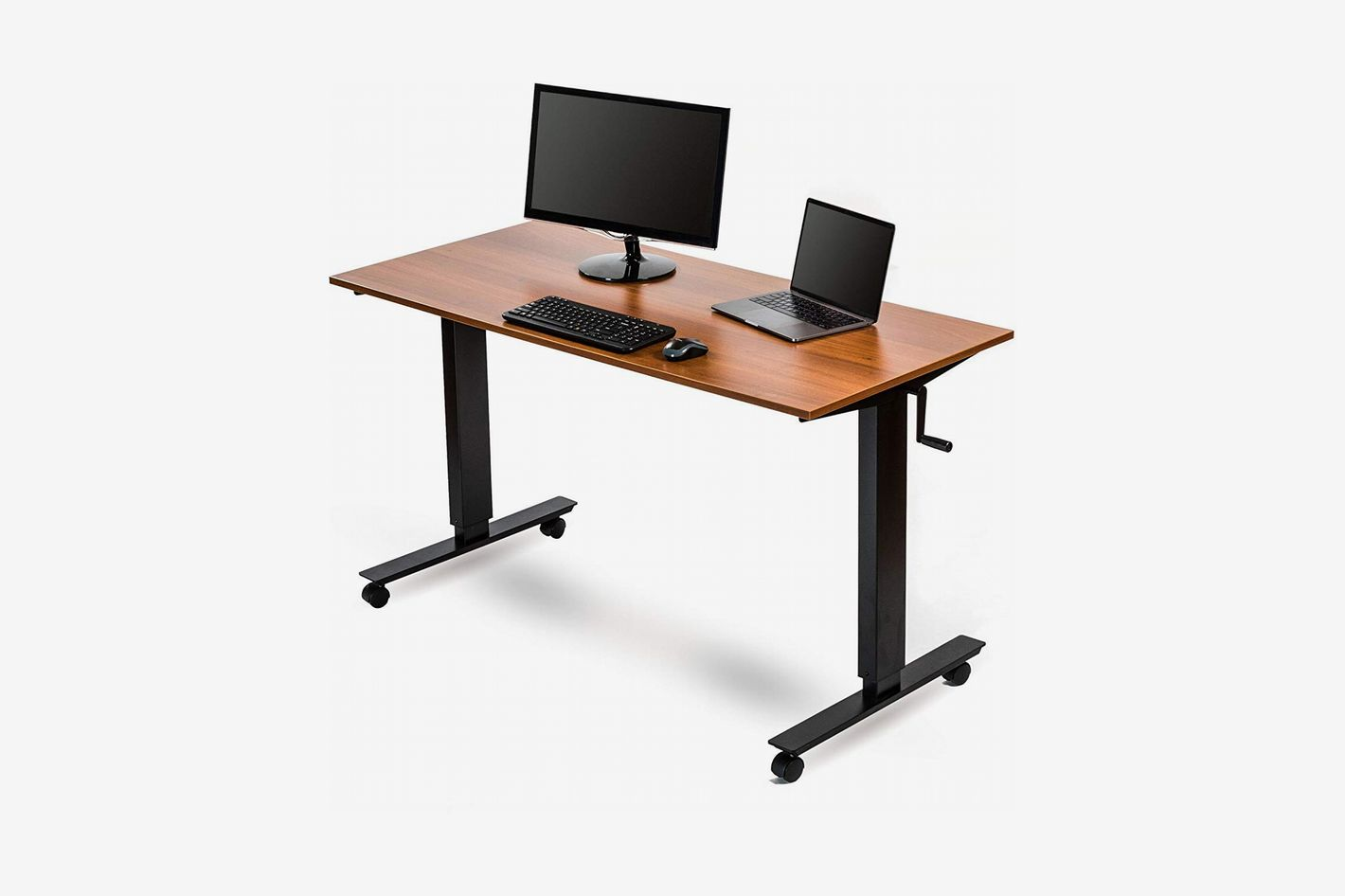 Crank Sit Stand Desk In Many Styles Business & Industrial Office Furniture