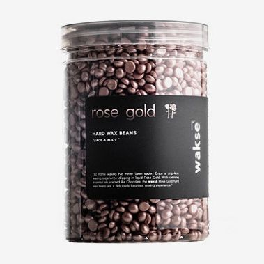Wakse Rose Gold Hard Wax Beans