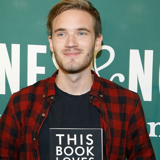 "PewDiePie Signs Copies Of His New Book ""This Book Loves You"""