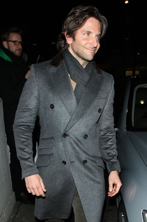 Bradley Cooper at the Little House club on February 8, 2013 in London, England.