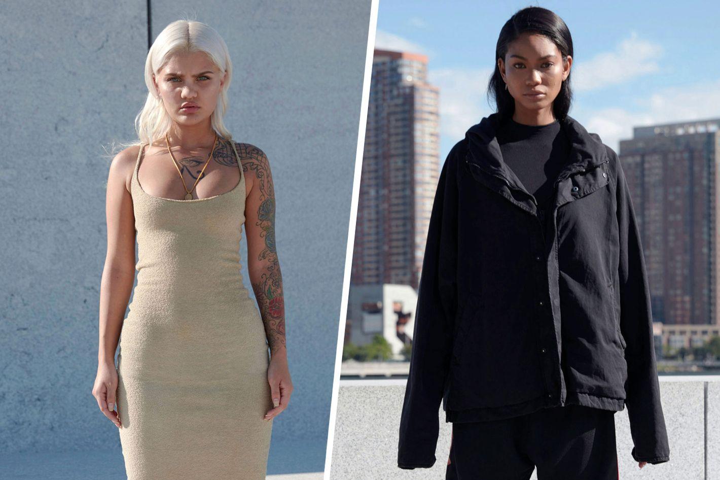 fdf0d1097c1cb5 Models Amina Blue and Chanel Iman Talk Yeezy Season 4