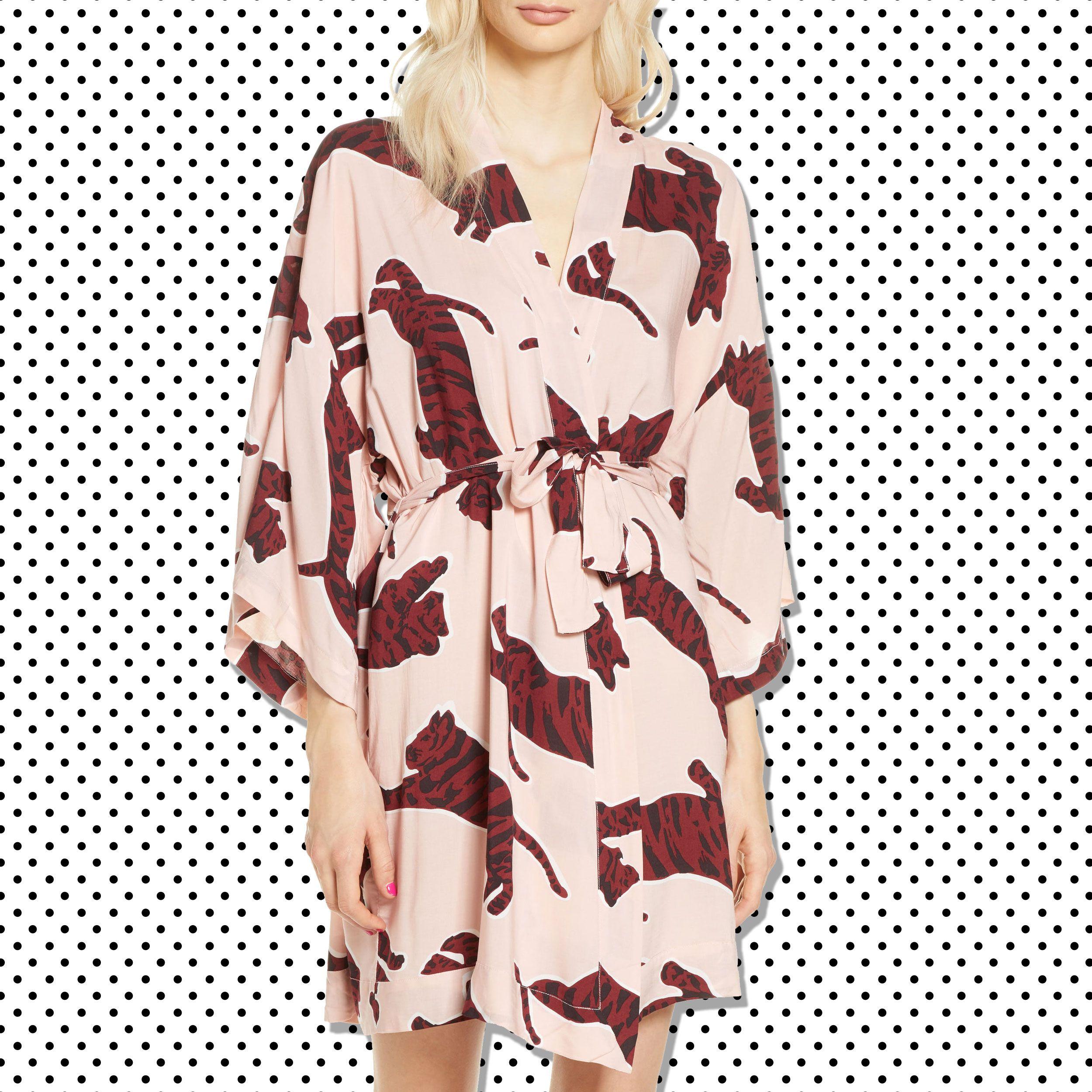 Just Love Hooded Plush Fleece Robe for Girls