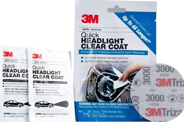 3M Quick Headlight Clear Coat
