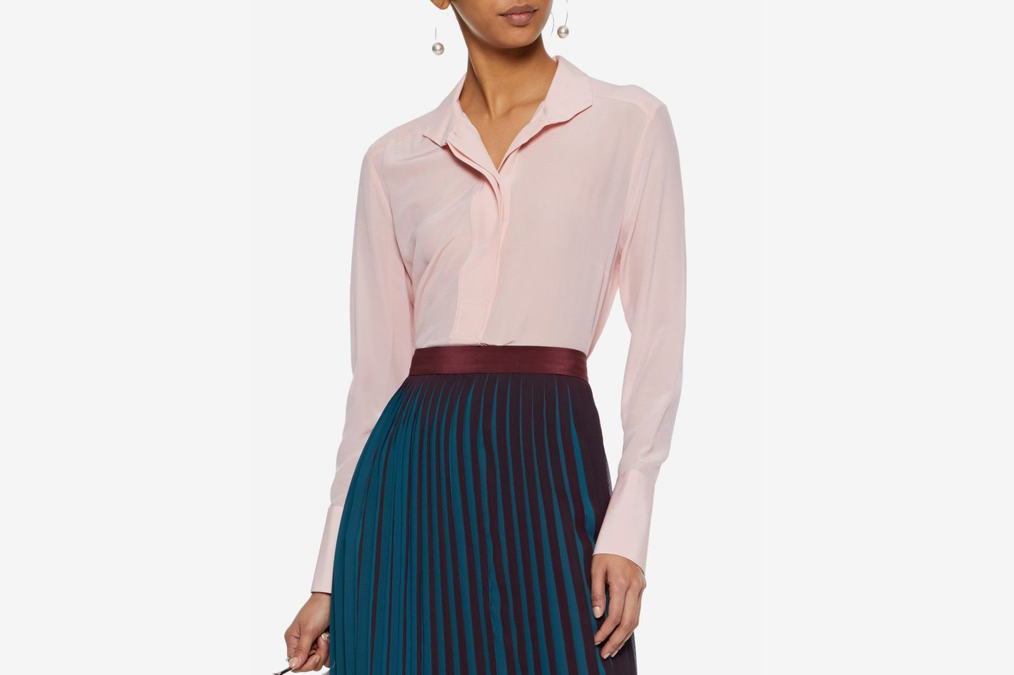 By Malene Birger crepe de chine shirt