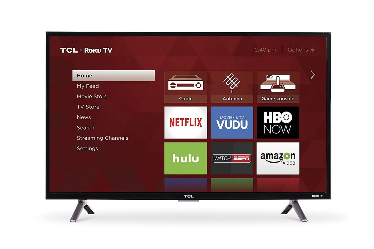 TCL Roku Smart LED TV 40-inch