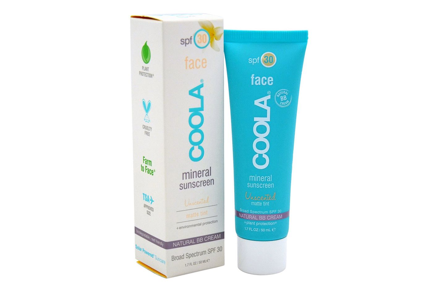 Coola Unscented Sunscreen