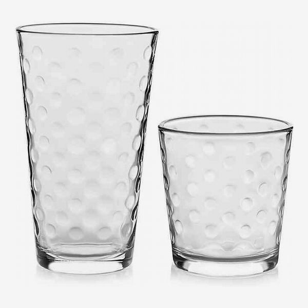 Libbey Glass Awa Drinkware Set in Clear (Set of 16)