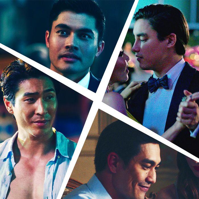 The hot men of Crazy Rich Asians.