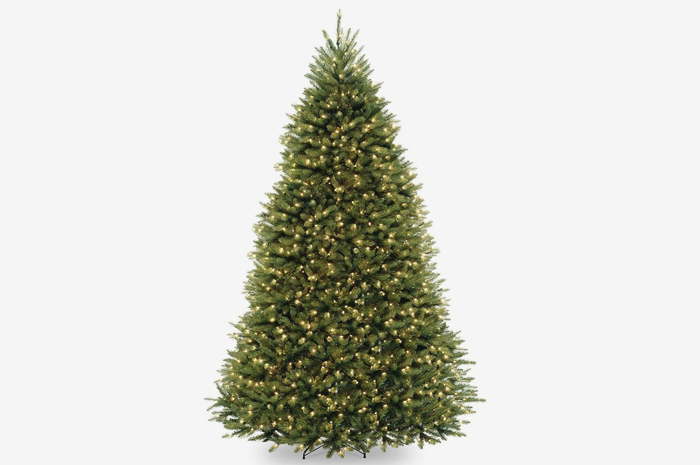 National Tree 10 Foot Dunhill Fir Tree With 1200 Dual LED Lights