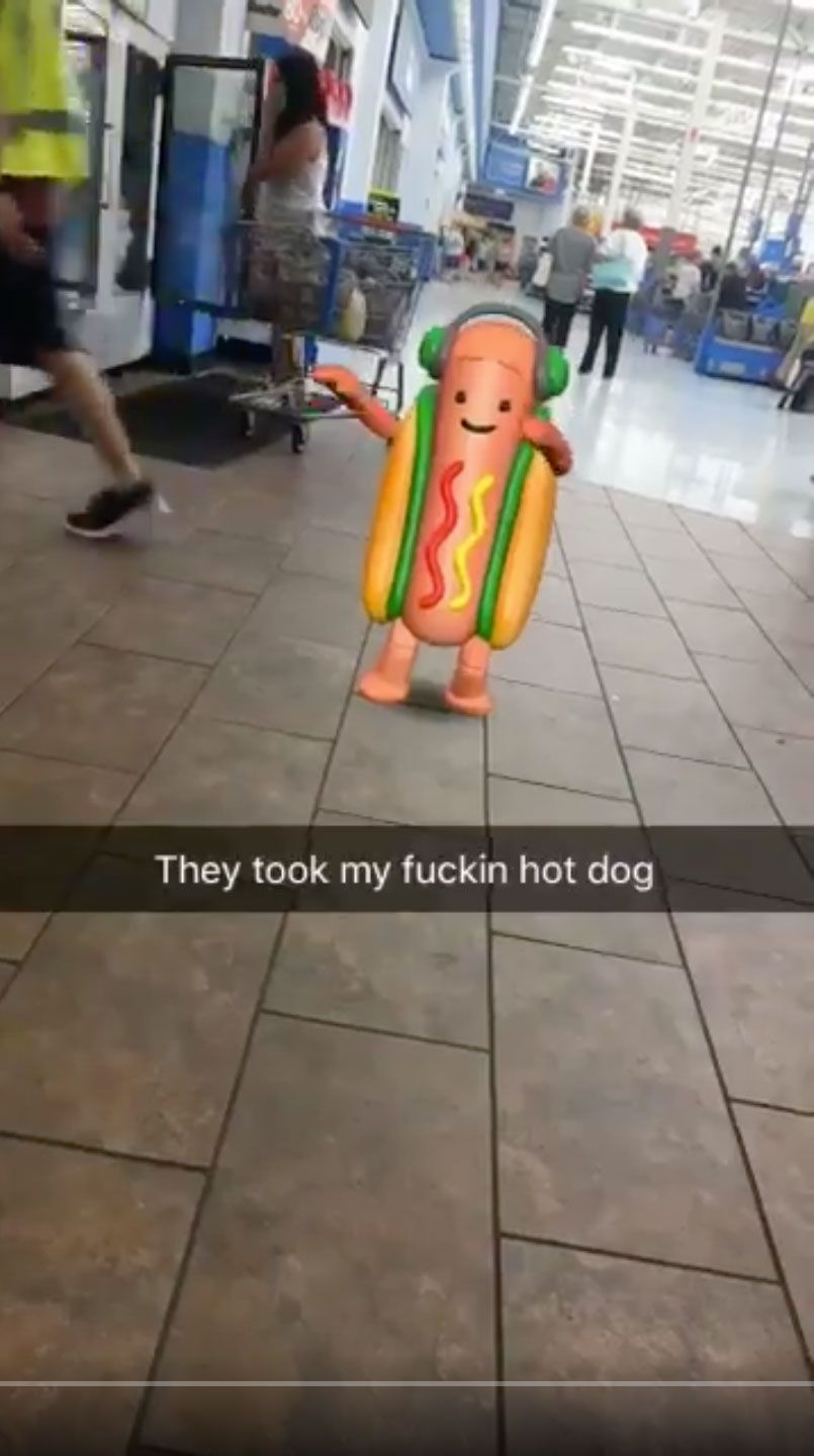 Snapchat Dancing Hot Dog Filter How To Use
