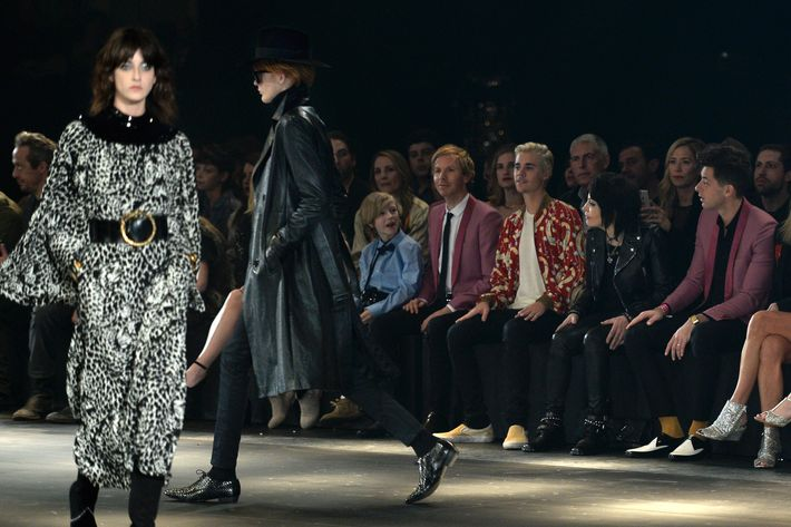 The Saint Laurent Show at the Hollywood Palladium. Photo: Kevork Djansezian/Getty Images for Saint Laurent