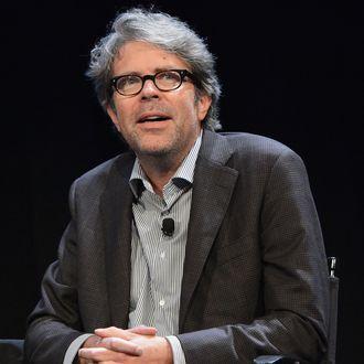 NEW YORK, NY - OCTOBER 05: Novelist/essayist Jonathan Franzen attends panel