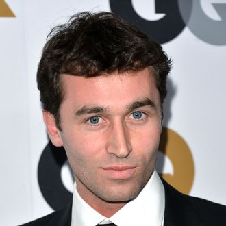 Actor James Deen arrives at the GQ Men of the Year Party at Chateau Marmont on November 13, 2012 in Los Angeles, California.