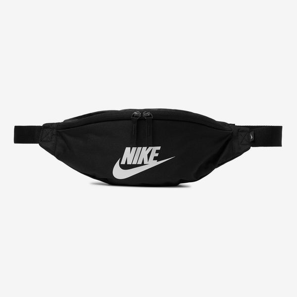 Nike Heritage Logo-Print Canvas Belt Bag