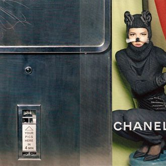 Carine's fall Chanel campaign.
