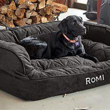 Lit pour chien Orvis ComfortFill-Eco Couch