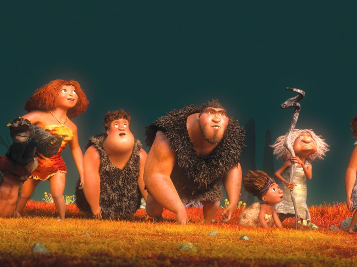 movie review: the croods -- vulture